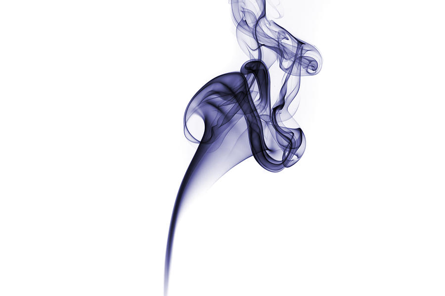 Smoke pattern by David Barker