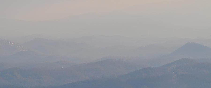 Smokey Mountains Photograph - Smokey Ripples 2 by Peter  McIntosh