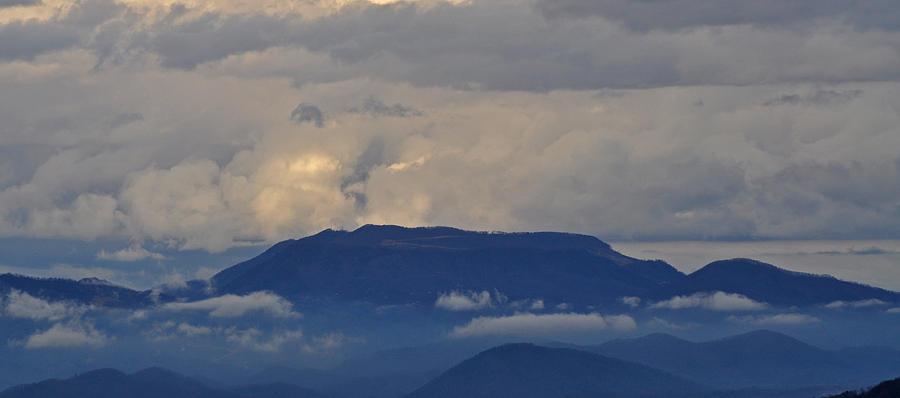 Smokey Mountains Photograph - Smokey Tippy Top Morning by Peter  McIntosh