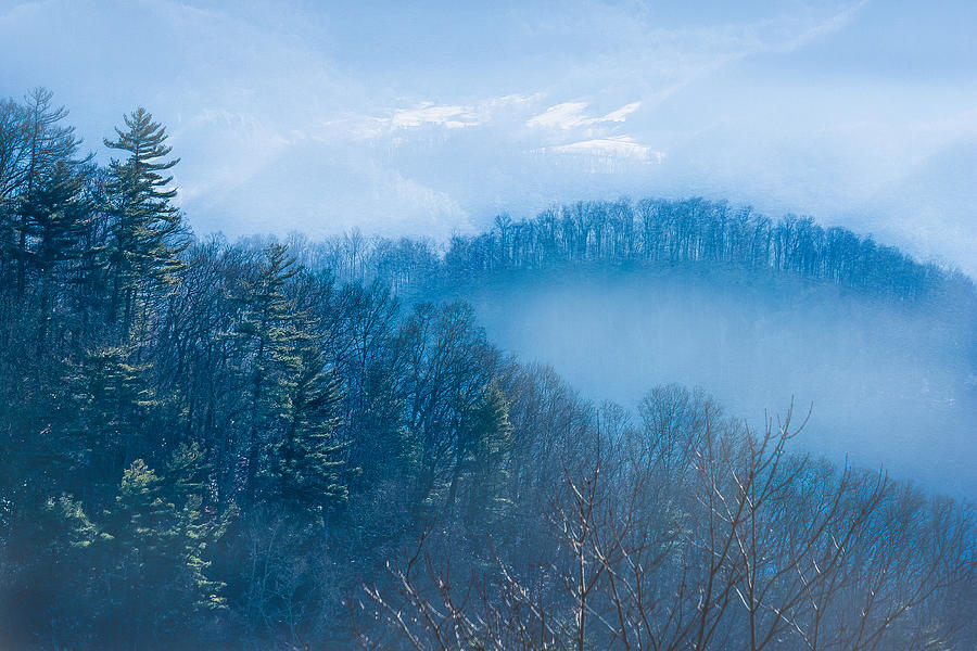 Smokies in Blue by Maria Robinson