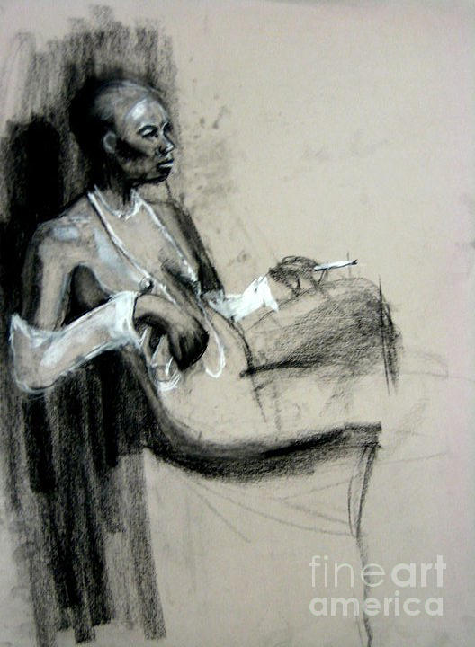 Smoking by Gabrielle Wilson-Sealy