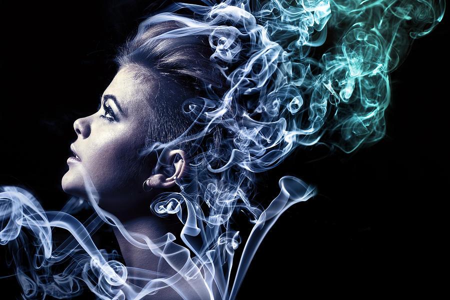 Smoking Photograph