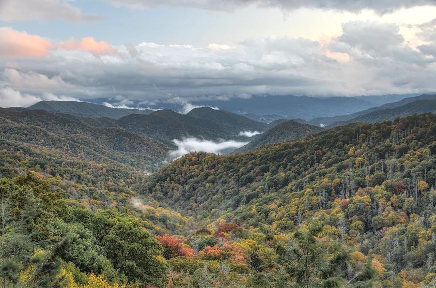Great Smoky Mountains National Park Photograph - Smoky Mountain Twilight by Mary Anne Baker