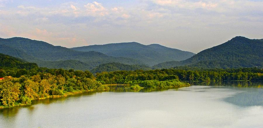 Panoramic Photograph - Smoky Mountains by Frozen in Time Fine Art Photography