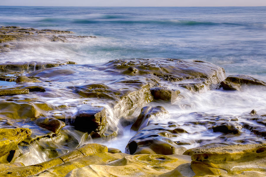 Smoky Rocks of La Jolla by Dusty Wynne