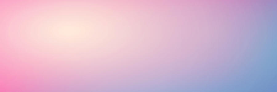 Smooth Gradient Background With Pastel Pink And Blue Colors By Colnihko