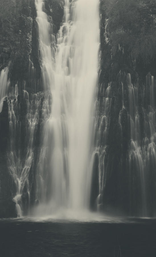 Burney Falls State Park Photograph - Smooth by Laurie Search