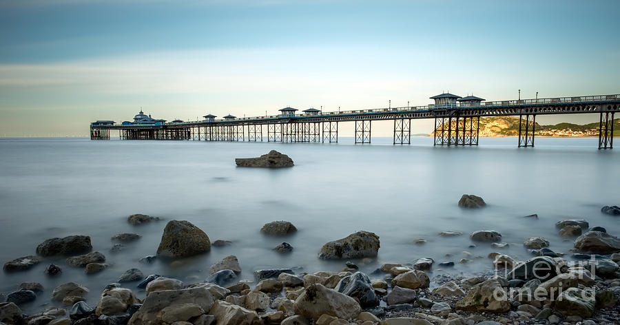 Pier Photograph - Smooth Waters by Adrian Evans
