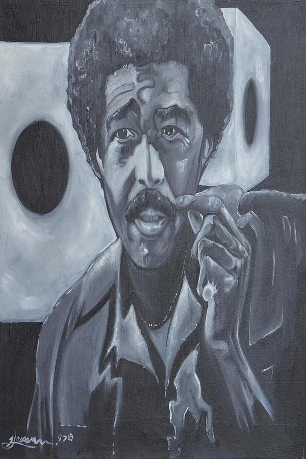 Richard Pryor Painting - Snake Eyes by Hasaan Kirkland