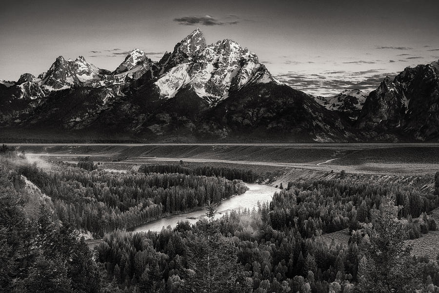 Snake River View Photograph