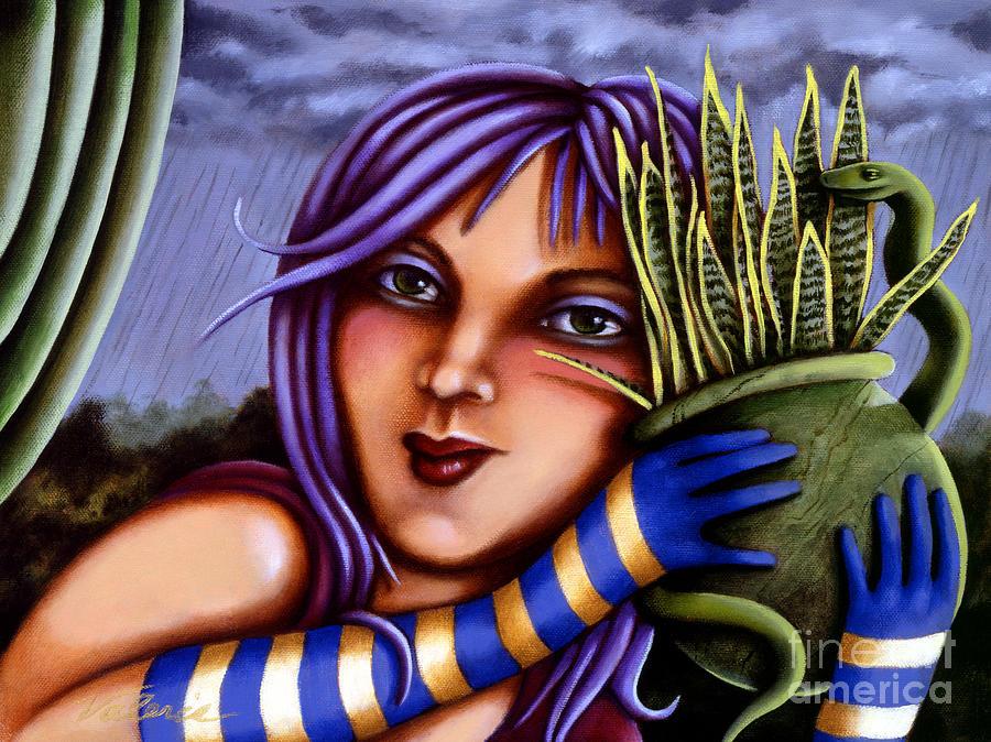 Snake Snakeplant by Valerie White