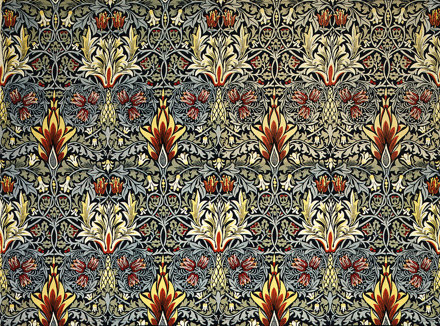 William Tapestry - Textile - Snakeshead by William Morris