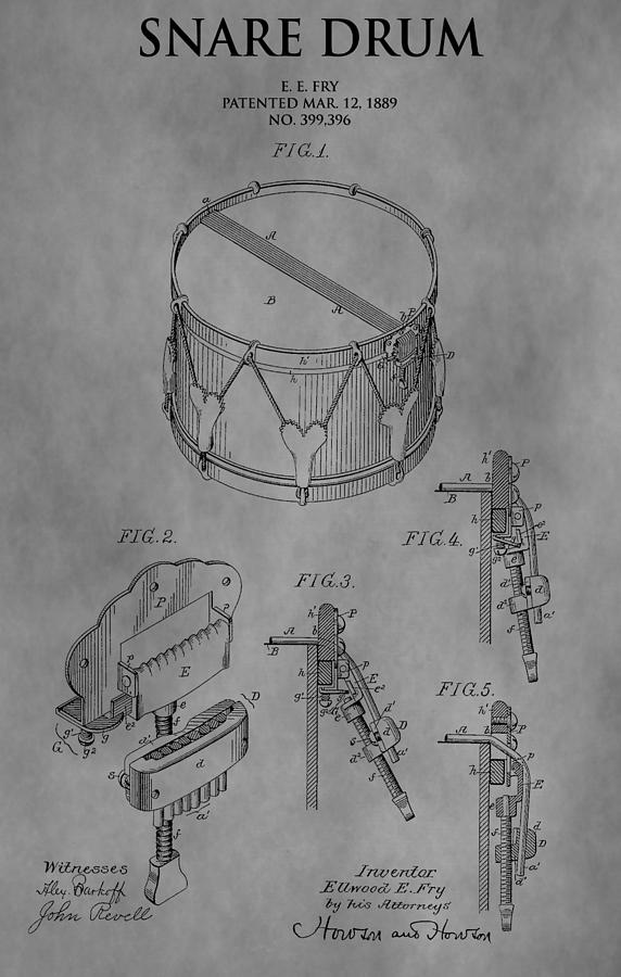 Snare Drum Drawing