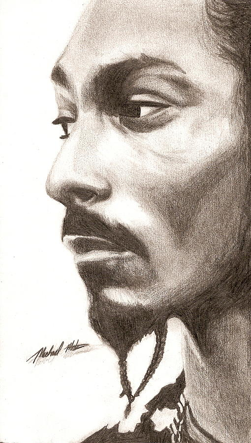 Snoop Dogg Digital Art - Snoop Dogg by Michael Mestas