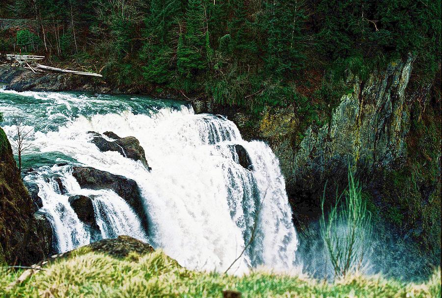 Snoqualmie Falls by Anna Burdette