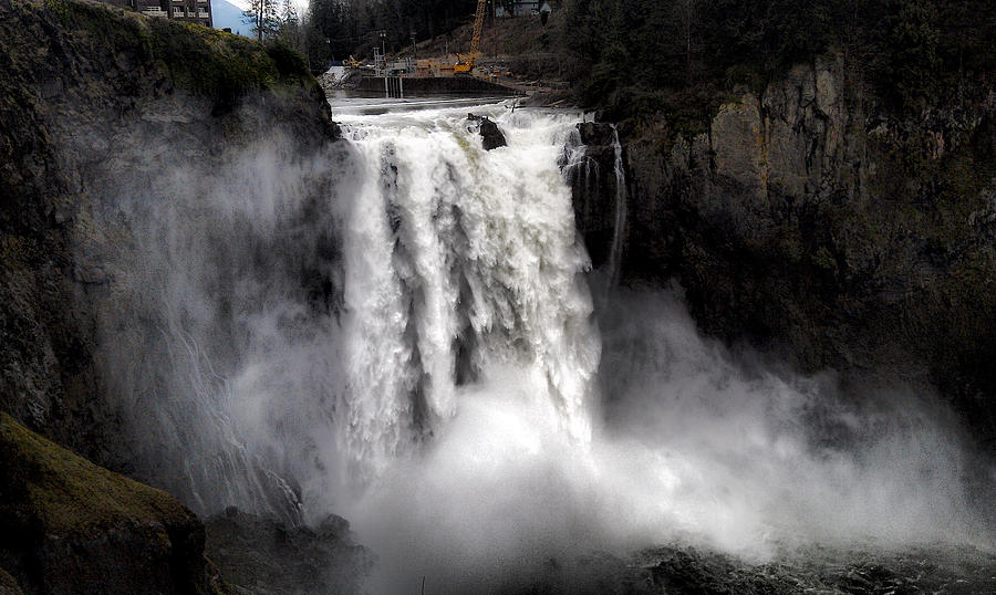 Snoqualmie Falls Photograph by Rusty Jeffries