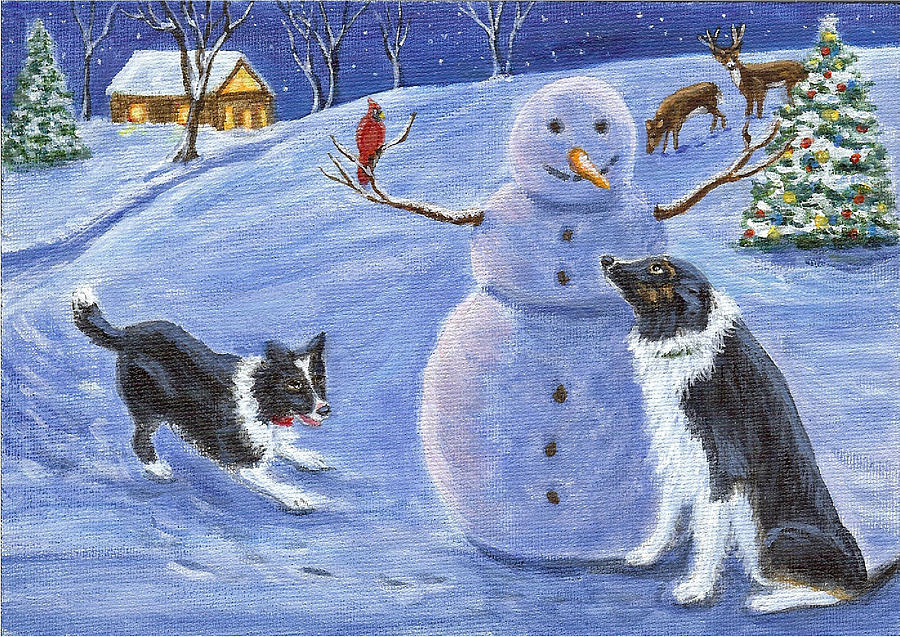 Snow Friends by Fran Brooks