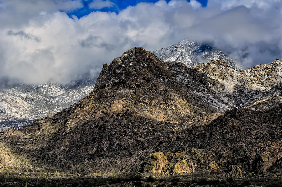 Snow In The Mountains No.14 Photograph