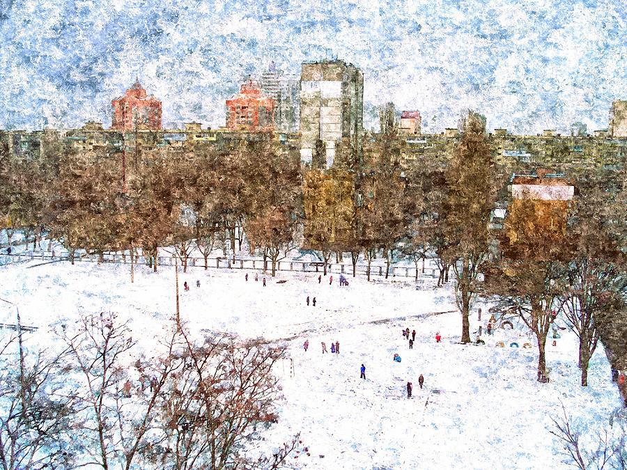 Snow In The Neighborhood Photograph By Rick Todaro