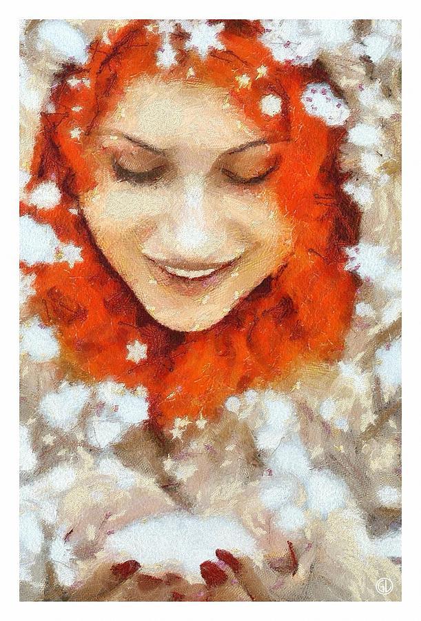 психологическом красивые рыжие снегурочки для