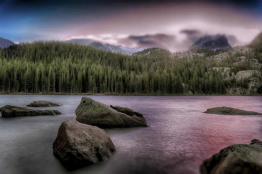 Mountains Photograph - Snowblown Sunset  by Garett Gabriel