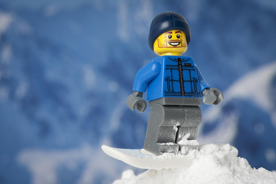 Snowboarding Photograph