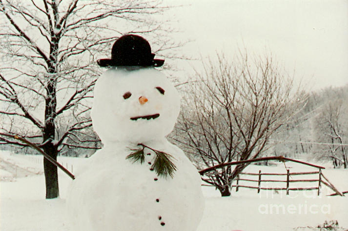 Snowman Project - Animation, Art, &- Technology