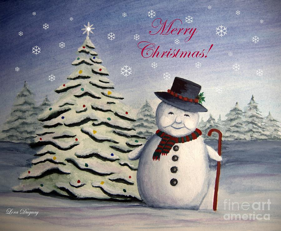Snowman's Christmas by Lora Duguay