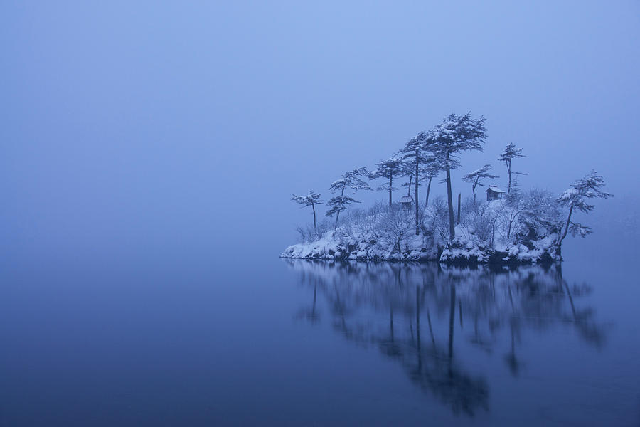 Snow Photograph - Snowy Morning by Ikuo Iga