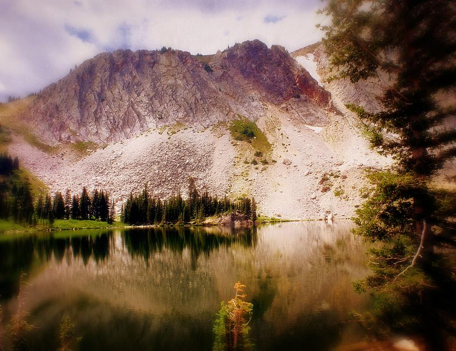 Mountain Lake Photograph - Snowy Mountains Loop 2 by Marty Koch