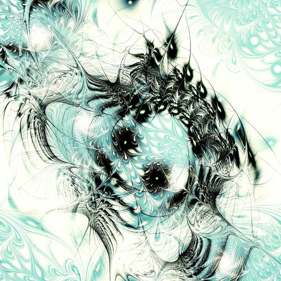 Computer Digital Art - Snowy Owl by Anastasiya Malakhova