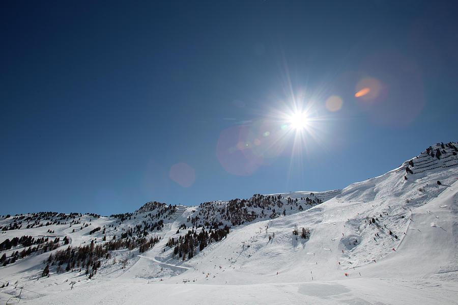 Snowy Ski Resort Photograph by Chris Tobin