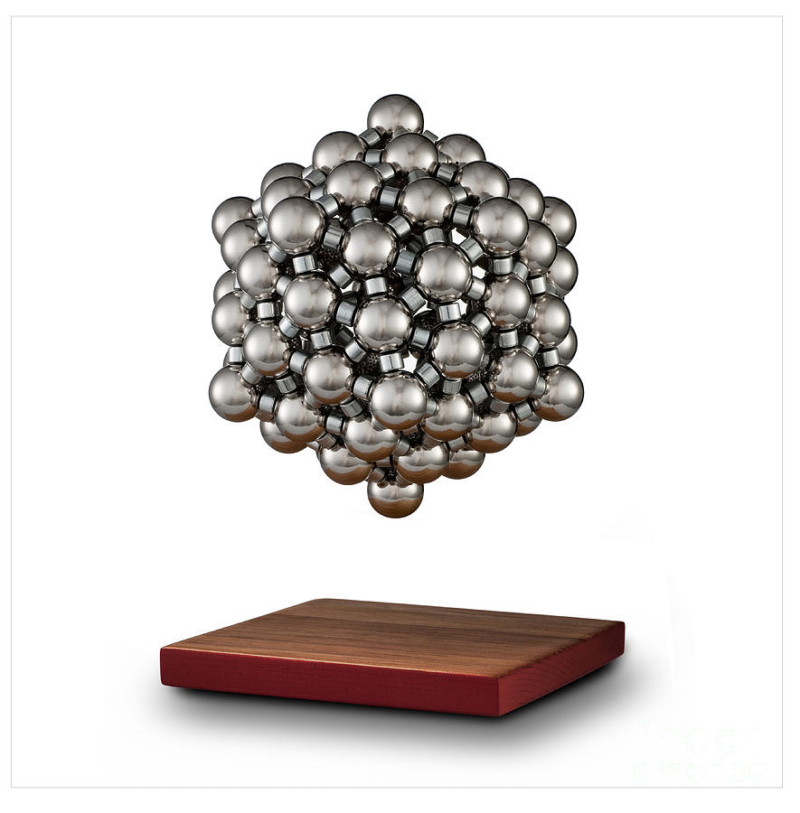Chemistry Photograph - Snub Dodecahedron by Raul Gonzalez