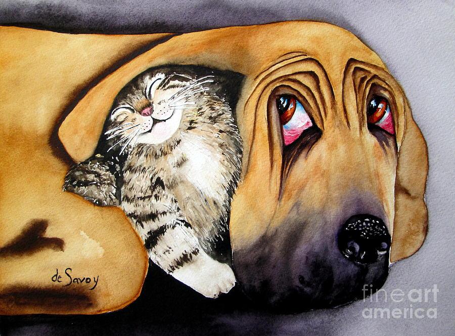 Snuggles by Diane DeSavoy