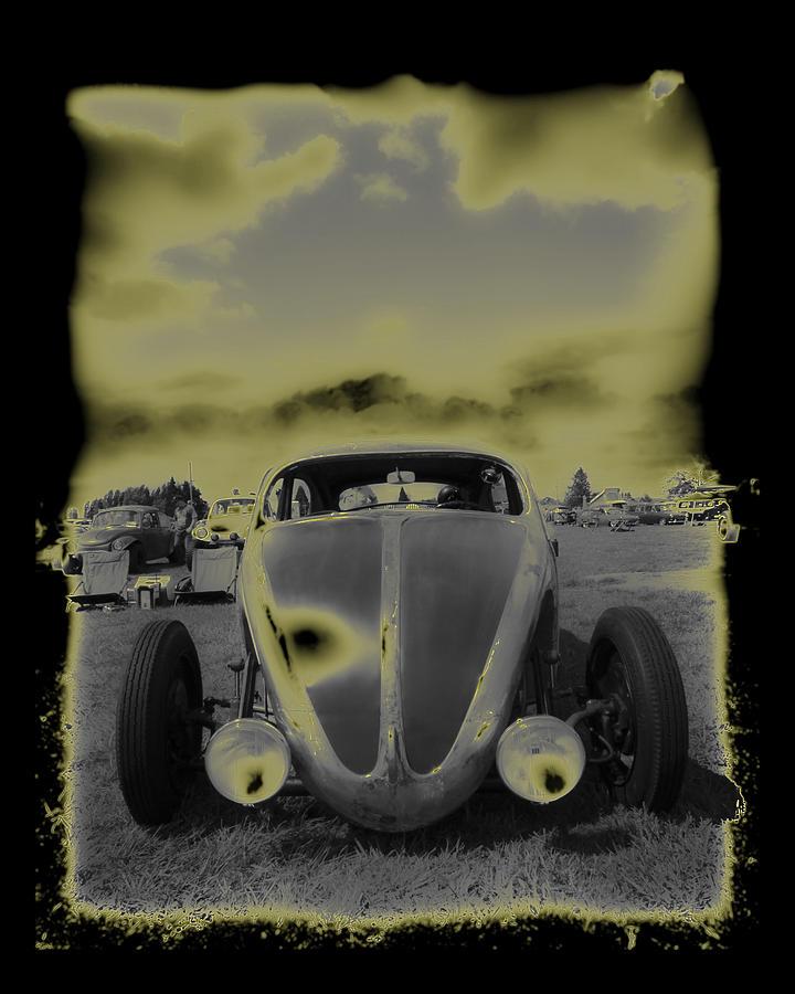 Vw Bug Photograph - So Cal Vw by Steve McKinzie