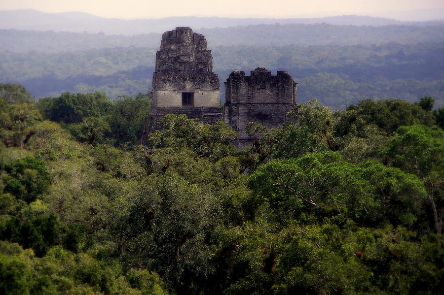 Tikal Photograph - So Long Ago by Karen Wiles
