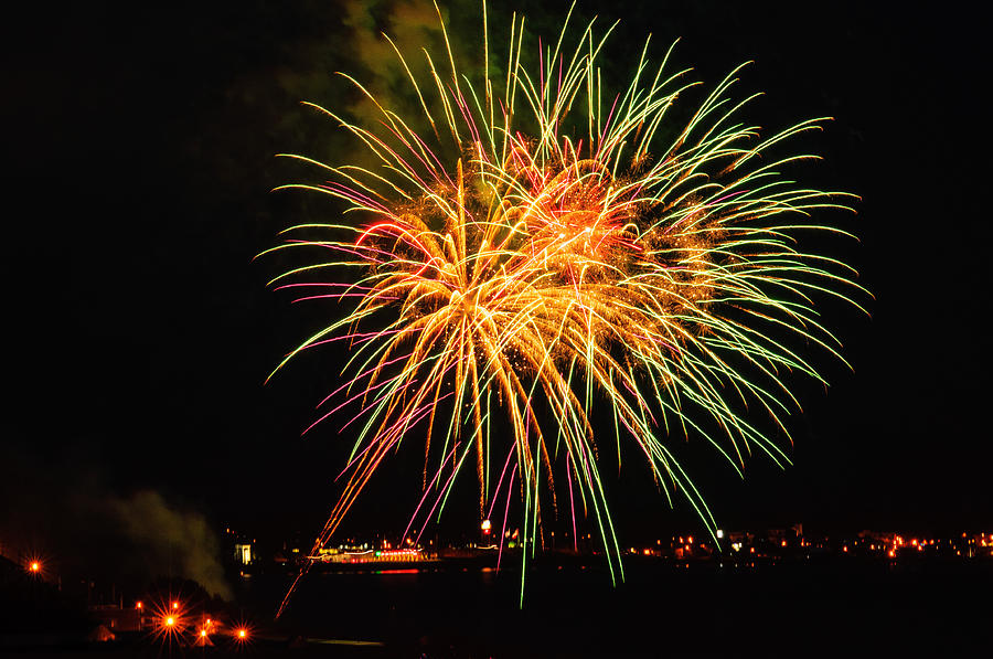 Fireworks Photograph - So Many Colours by Sabine Edrissi