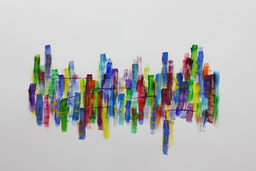 Abstract Painting - So Many Doors by Tom Atkins