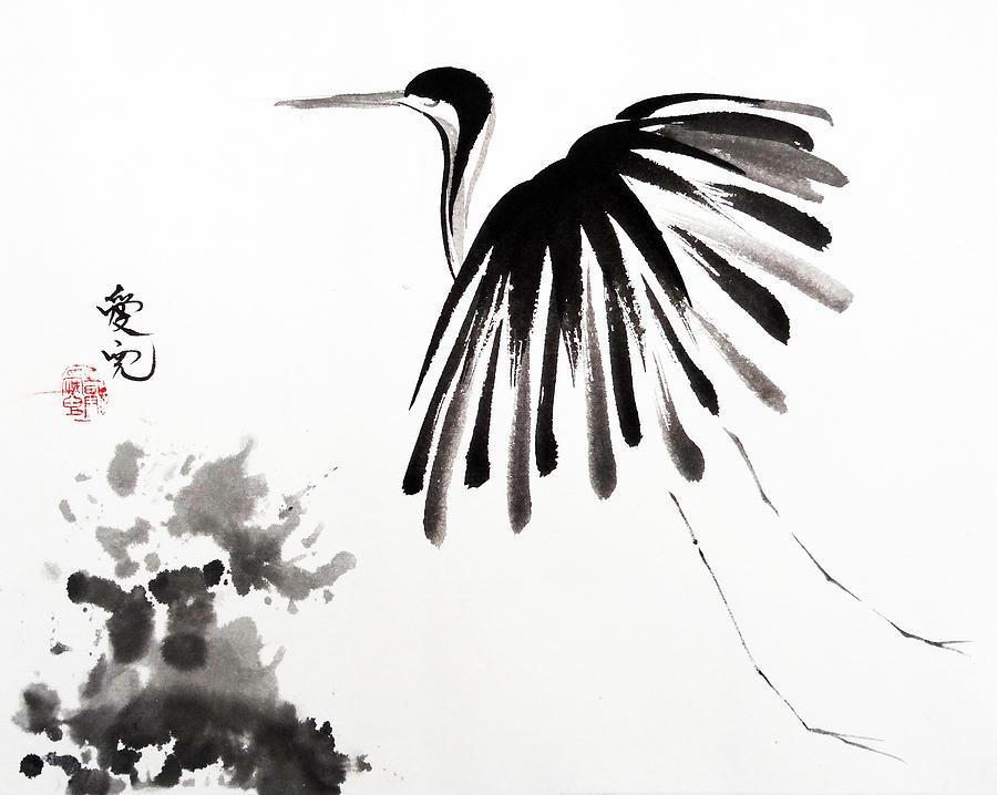 Tai Oi Yee Painting - Soaring High by Oiyee At Oystudio
