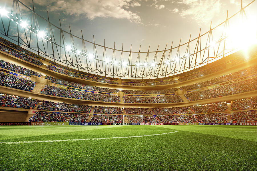 Soccer Stadium Photograph by Dmytro Aksonov
