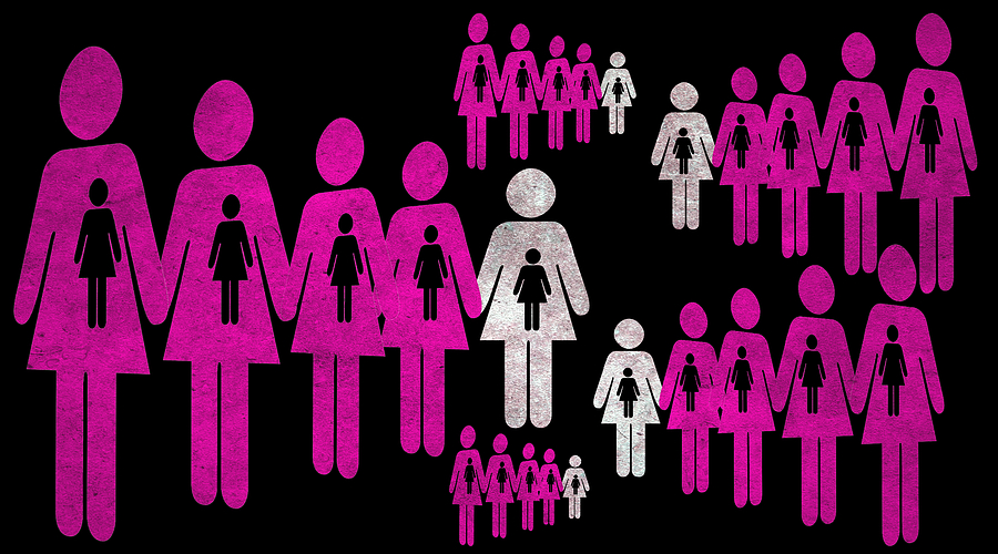 Girl Mixed Media - Social Responsibility 1 Part 2 by Angelina Vick