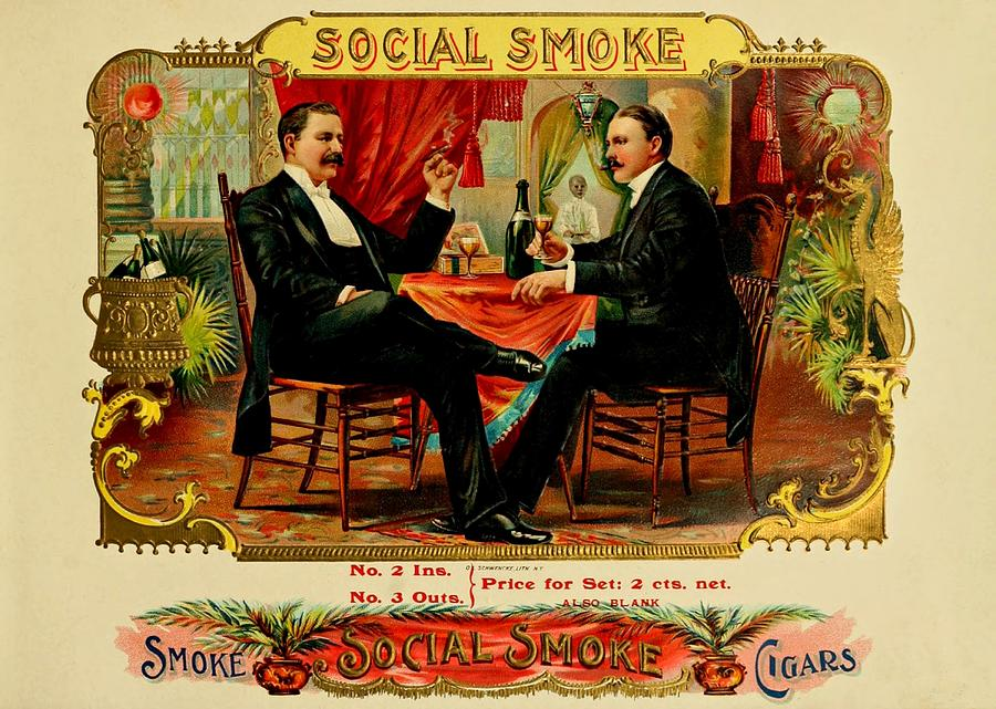 Vintage cigar art already
