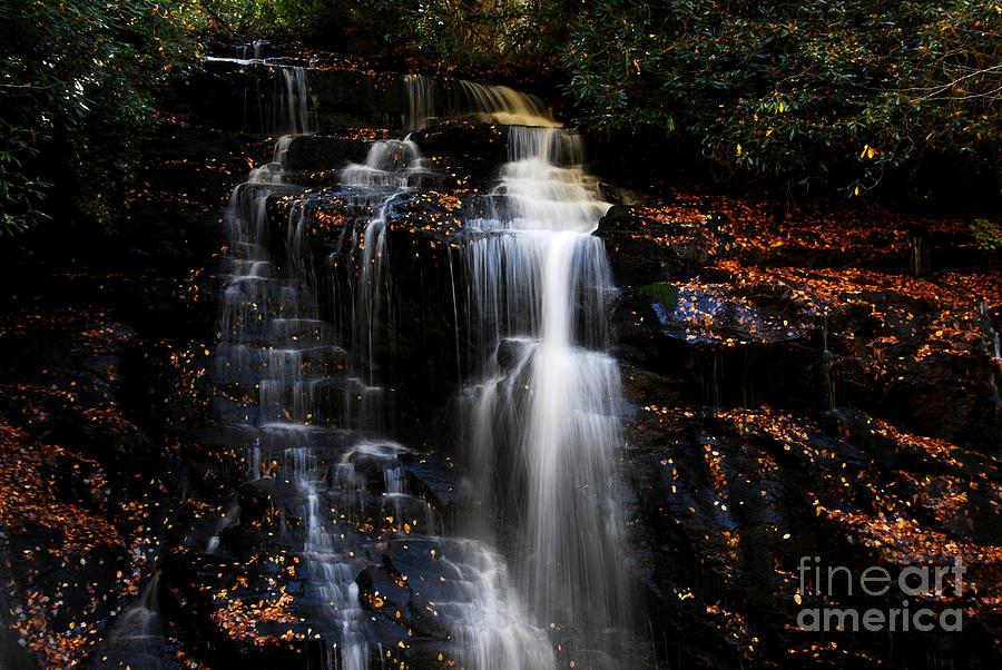 Soco Photograph - Soco Falls by Manda Renee
