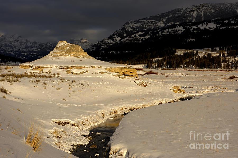 Soda Butte Photograph - Soda Butte Yellowstone by Deby Dixon