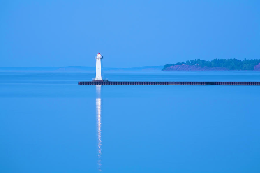 Sodus Point Pierhead Lighthouse, Ny Photograph by Dszc
