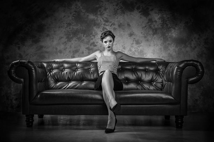Sofa Kicking Photograph By Luc Stalmans