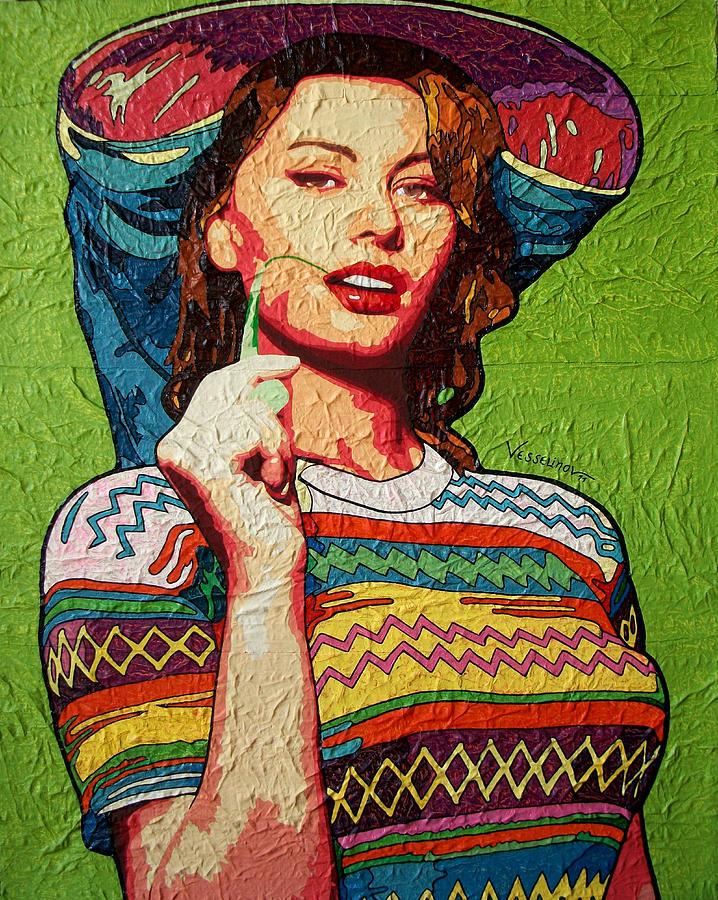 Sofia Loren Painting by Vlado Vesselinov