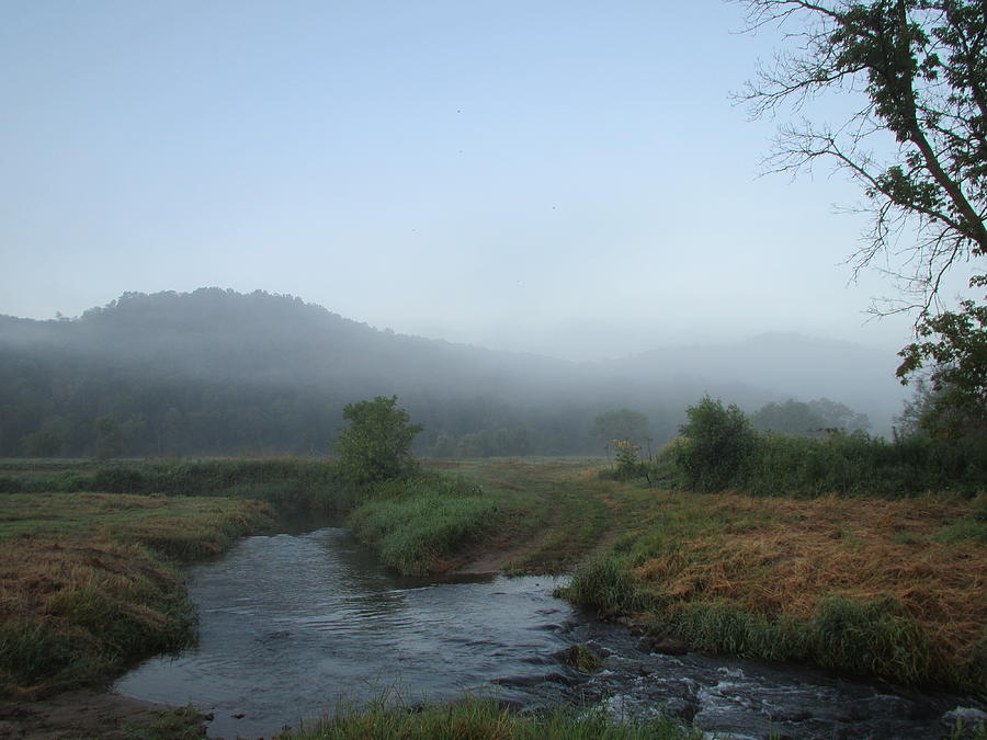 Trout Stream Photograph - Soft And Dreamy Morning by Denise   Hoff