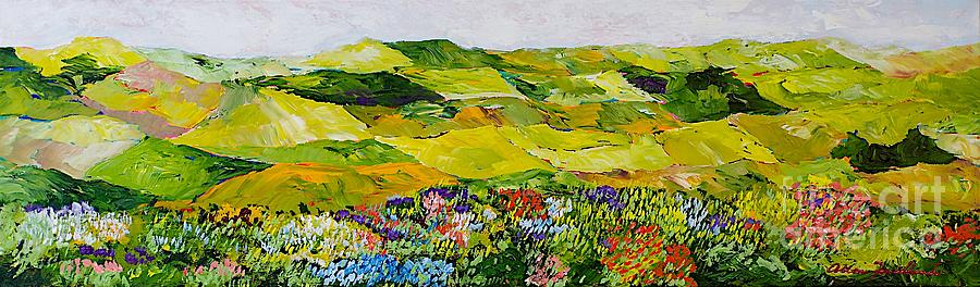 Landscape Painting - Soft And Lush by Allan P Friedlander