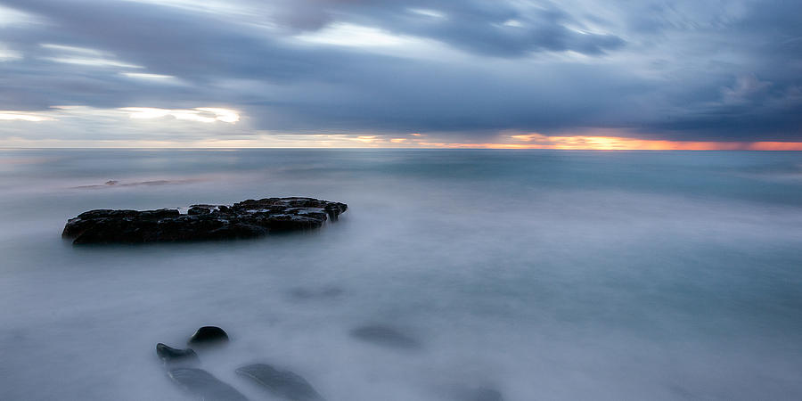 Beach Photograph - Soft Blue And Wide by Peter Tellone